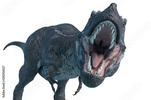 Fotografie, Obraz tyrannosaurus rex is ready to eat you