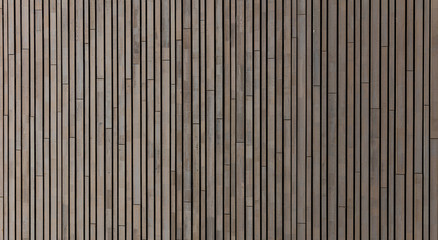 Wooden laths background, texture, floor or wall