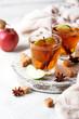 Leinwandbild Motiv Spicy apple cider, autumn drink