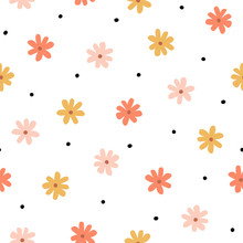 Seamless Pattern With Simple L...