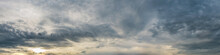 Dramatic Panorama Sky With Sto...