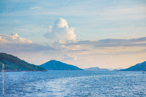 Fotografie, Obraz  Ocean and Mountain in summer time