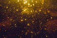 Gold Abstract Bokeh
