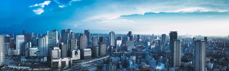 Osaka / Cityscape / Panorama
