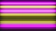 Creative neon bars rendering. Colorful led lines lightning.