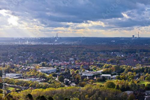Fotografía  Oberhausen industry of Ruhr Area Germany Europe