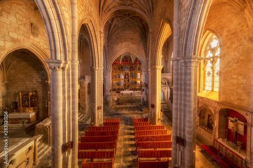Santa Maria La Mayor church in trujillo, Caceres, Spain