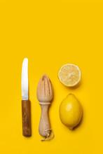 Limones Con Exprimidor De Made...