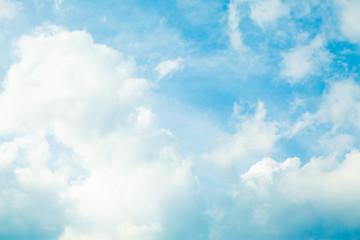 Panel Szklany Do pokoju dziewczyny blue sky with cloud