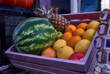 Fruits In A Local Market