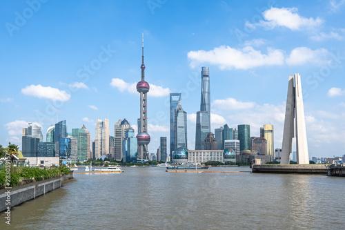 Foto op Aluminium Shanghai shanghai city skyline