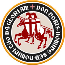 Templar Circular Emblem With L...