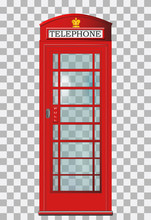 Traditional Red London Telepho...