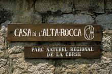 Massif De L'Ospedale, Parc Naturel Régional De Corse, Corse Du Sud