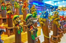 Handmade Incense Censers, Chiang Mai Night Market, Thailand