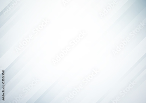 Obraz Abstract gray vector background with stripes - fototapety do salonu