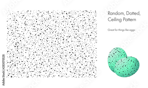 Random, Dotted, Ceiling Pattern Canvas-taulu