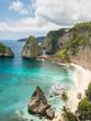 Diamond beach in Nusa Penida