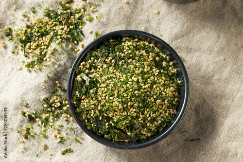 Fototapeta Dry Organic Japanese Furikake Rice Seasoning obraz