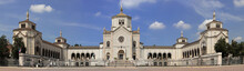 Monumental Cemetery In Milan City In Italy