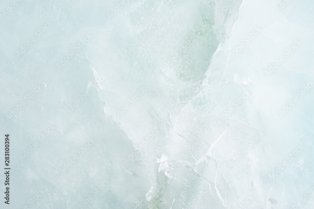 Fototapeta Soft Cool Ice Cracled Background / Texture