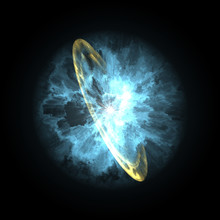 Supernova Explosion In Space