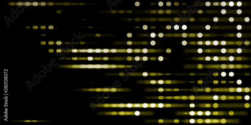 Abstract Tech Background Canvas Print