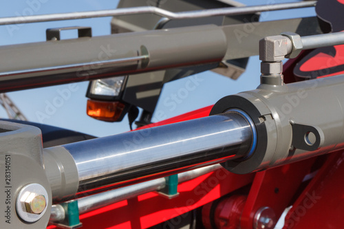Piston or actuator of hydraulic and pneumatic machinery Tablou Canvas