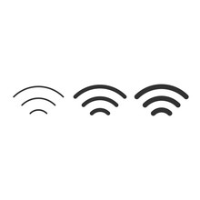 Wi-Fi Different Signal Levels....