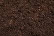 Fresh soil for gardening as background, closeup