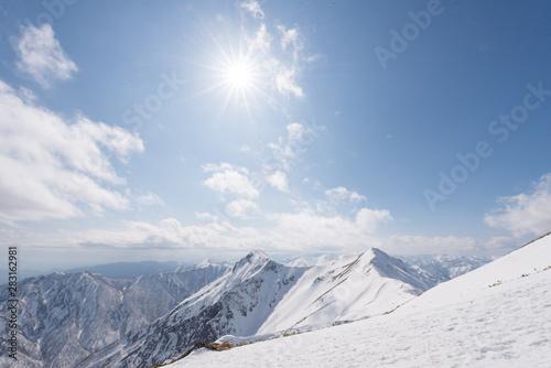 Foto  谷川岳 雪山 冬山