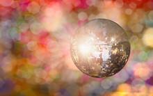 Party Disco Mirror Ball Reflec...