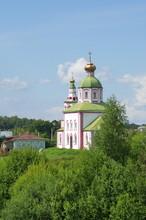 The Church Of Elijah The Prophet On Ivanova Mountain. Suzdal, Vladimir Region, Russia