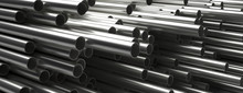 Pipes Tubes Steel Metal, Round...