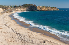 Crystal Cove Beach In Southern California