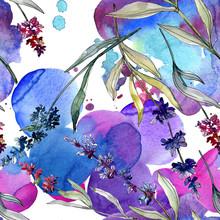 Lavender Floral Botanical Flow...