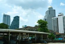 Auf Dem Chao Phraya In Bangkok
