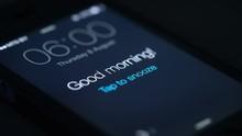 Good Morning Alarm Clock On Th...
