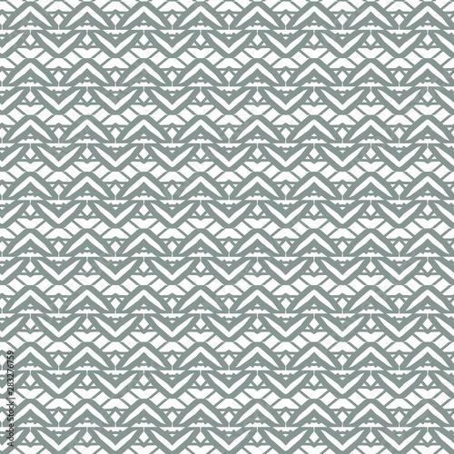 In de dag Boho Stijl Seamless geometric ornamental vector pattern. Abstract background