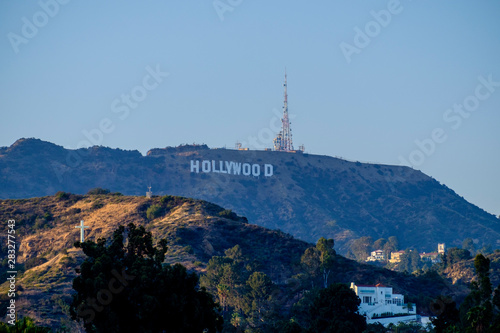 Photo  Famous Hollywood sign in Los Angeles, California, USA