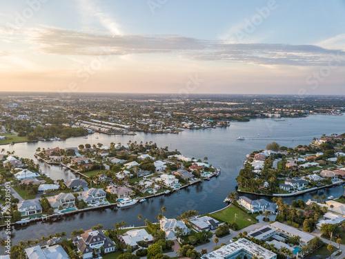 Fotografía Flight over the Atlantic Coast of South Florida