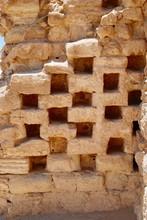 Columbarium At Masada