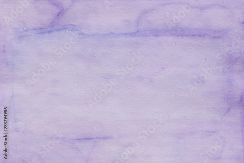 violet abstract watercolor painted background texture