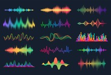 Sound Waves. Frequency Audio W...