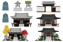 日本のお寺セット