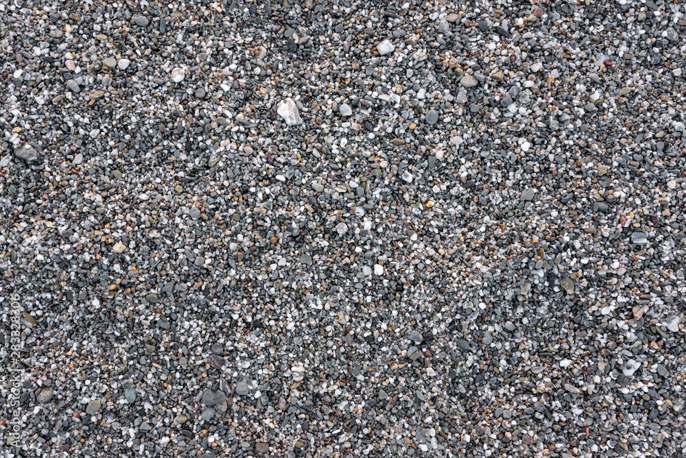 Fototapety, obrazy: Seamless background made of gray pebbles
