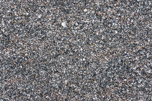 Fotomural Seamless background made of gray pebbles
