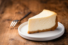 Cheesecake Slice, New York Sty...