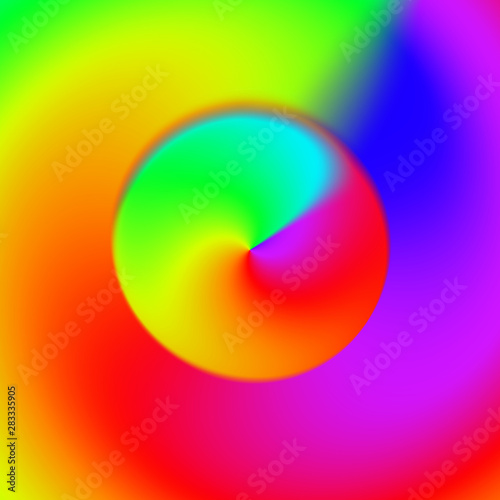Glowing abstract multicolored background.