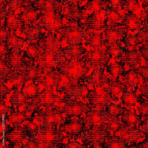Türaufkleber Künstlich Snakeskin seamless pattern. Monochrome reptile repeating texture. Fashion and stylish animal print.